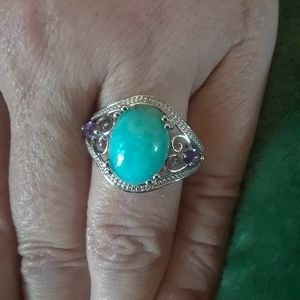 ❄Elves Choice ❄ Russian Amazonite Ring